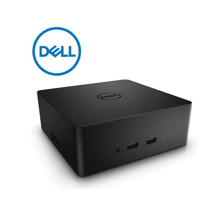 Dell Docking Station Dell TB16 Thunderbolt 3 Tipo C - 180W - 3x USB 3 0 -  2x USB 2 0 - 1x Thunderbolt - 1x VGA - 1x RJ-45 - Negro